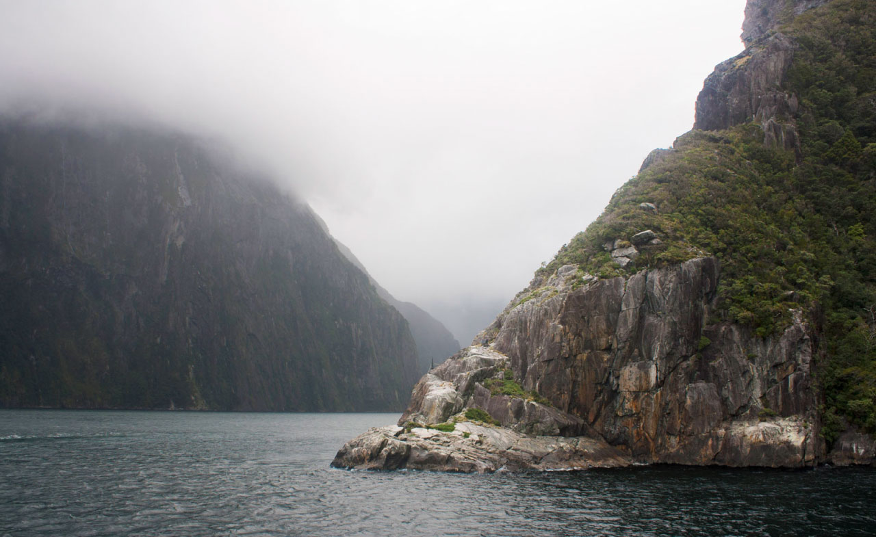 Milford Sound Fjords, New Zealand